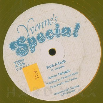 Cover art - Junior Delgado: Rub-A-Dub
