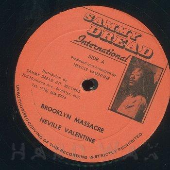 Cover art - Neville Valentine: Brooklyn Massacre