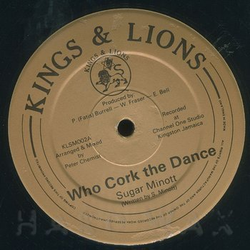 Cover art - Sugar Minott: Who Cork The Dance