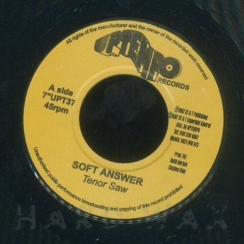 Cover art - Tenor Saw: Soft Answer
