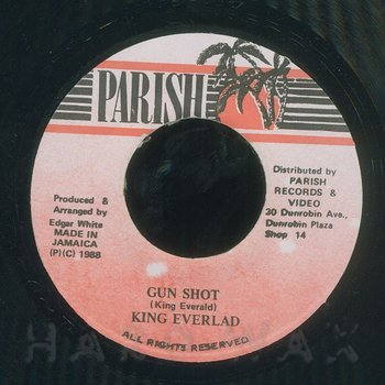 Cover art - King Everald: Gun Shot