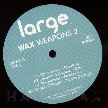 Cover art - Various Artists: Wax Weapons 2