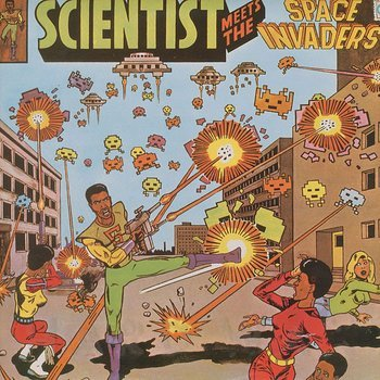 Cover art - Scientist: Meets The Space Invaders