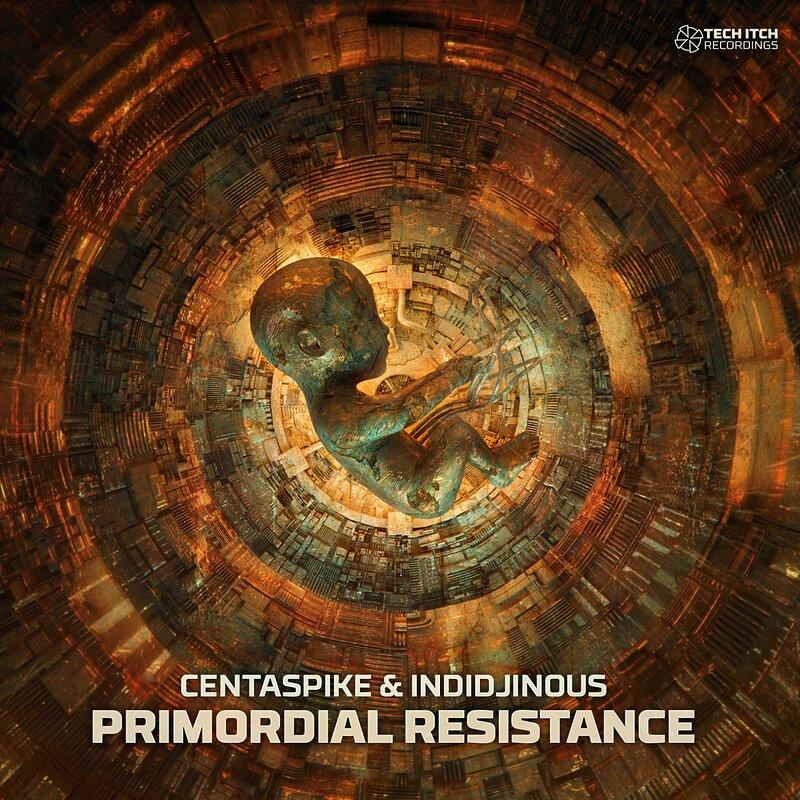 Cover art - Centaspike & Indidjinous: Primordial Resistance