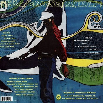 Cover art - Eek-A-Mouse: Skidip!