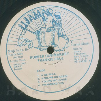 Cover art - Frankie Paul: Rub A Dub Market