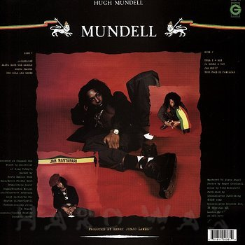 Cover art - Hugh Mundell: Mundell