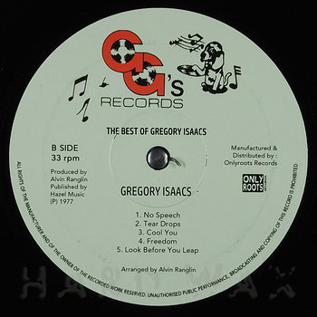 Cover art - Gregory Isaacs: The Best Of Gregory Isaacs