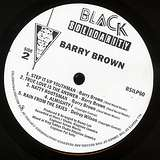 Cover art - Barry Brown: Step It Up Youthman