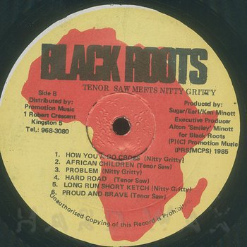 Cover art - Tenor Saw & Nitty Gritty: Lots Of Sign