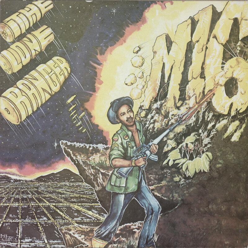 Cover art - Lone Ranger: M 16