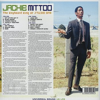 Cover art - Jackie Mittoo: The Keyboard King At Studio One