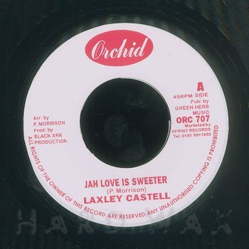 Cover art - Lacksley Castell: Jah Love Is Sweeter