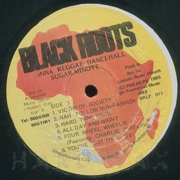 Cover art - Sugar Minott: Inna Reggae Dancehall