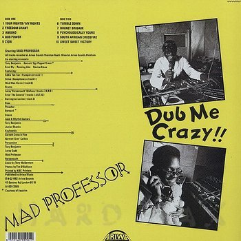 Cover art - Mad Professor: Dub Me Crazy