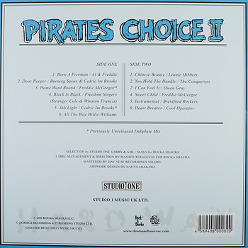 Cover art - Various Artists: Pirates Choice 2