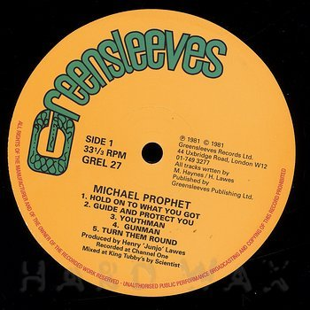 Cover art - Michael Prophet: Gunman