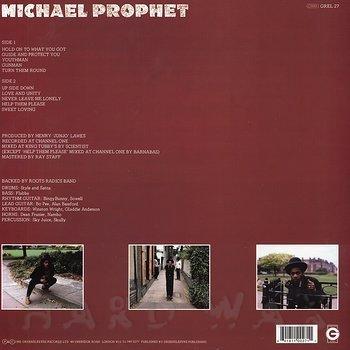 Cover art - Michael Prophet: Gunman