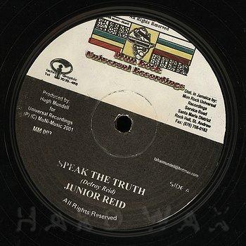Cover art - Junior Reid: Speak The Truth