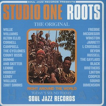 Cover art - Various Artists: Studio One Roots