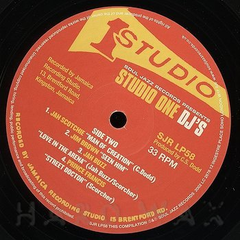 Cover art - Various Artists: Studio One DJ's