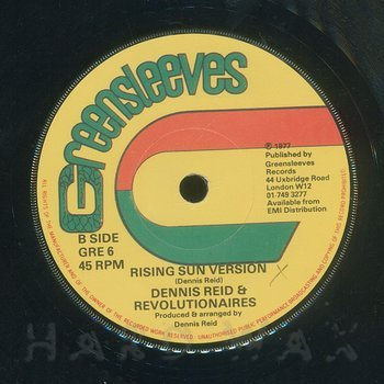 Cover art - Dennis Reid: Land Of The Rising Sun