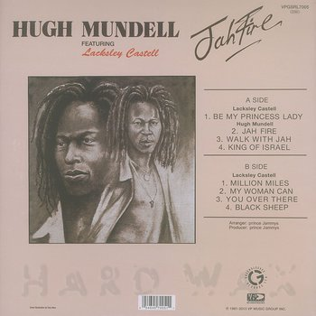 Cover art - Hugh Mundell: Jah Fire