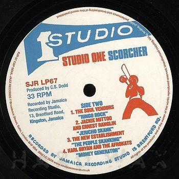 Cover art - Various Artists: Studio One Scorcher