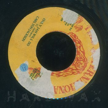 Cover art - Carlton Jackson: Only Jah Will Do
