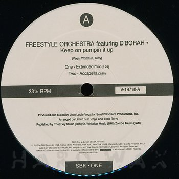 Cover art - Freestyle Orchestra: Keep On Pumpin It Up
