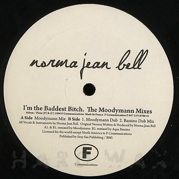 Cover art - Norma Jean Bell: I'm The Baddest Bitch