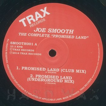 Cover art - Joe Smooth: The Complete Promised Land