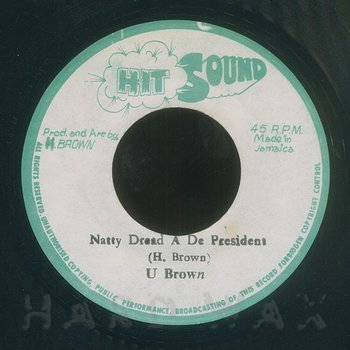Cover art - U Brown: Natty Dread A De President