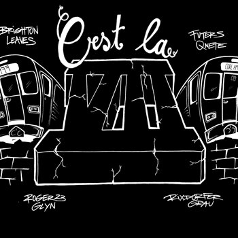 Cover art - Various Artists: C'est La Vii