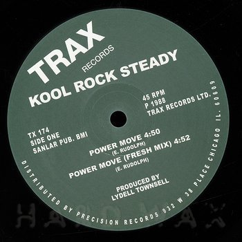 Cover art - Kool Rock Steady: Power Move