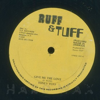 Cover art - Tony Tuff: Give Me The Love