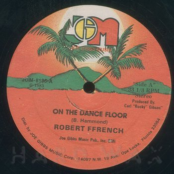 Cover art - Robert French: On The Dance Floor