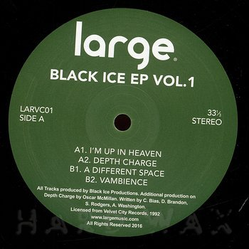 Cover art - Black Ice Productions: Black Ice EP Vol.1