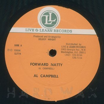 Cover art - Al Campbell: Forward Natty