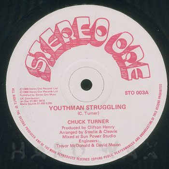 Cover art - Chuck Turner: Youthman Struggling