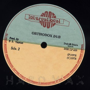 Cover art - Errol Brown: Orthodox Dub