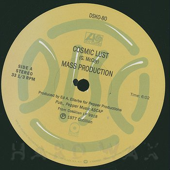 Cover art - Mass Production: Cosmic Lust