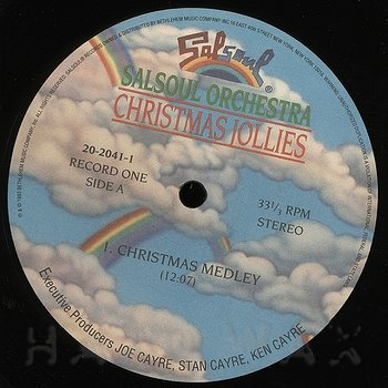 The Salsoul Orchestra: Christmas Jollies - Hard Wax