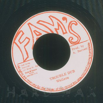 Cover art - The Wailers: Trouble Dub