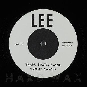 Cover art - Beverley Simmons: Train, Boats, Plane