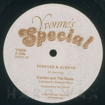 Cover art - Carlton & The Shoes: Forever & Always