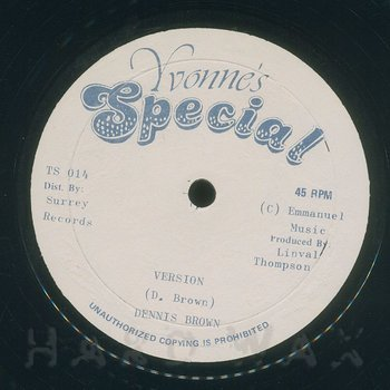 Cover art - Dennis Brown: My Love