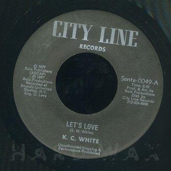 Cover art - K.C. White: Let's Love (In Unity)