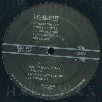 Cover art - Final Cut: Deep In 2 The Cut