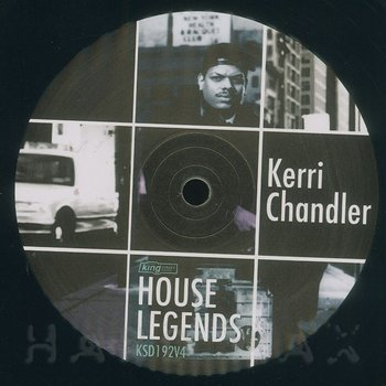 Cover art - Kerri Chandler: House Legends: Kerri Chandler Sampler #4